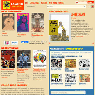 Comicbook Strip books and graphic novels online and physical store