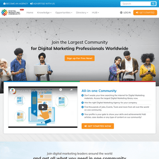 The Largest Community For Digital Marketing Professionals Worldwide