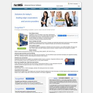 FTP Server, Email Secure Server, Email Server, Secure FTP, Webmail