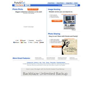 PictureTrail- Online Photo Sharing, Image Hosting, Online Photo Albums, Photo Slideshows