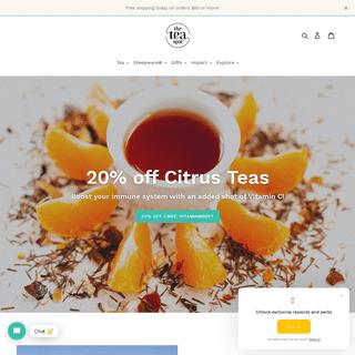 The Tea Spot - Loose Leaf Tea, Pyramid Tea Bags, Steepware & Infusers