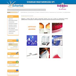Scharlab Magyarország - Minőségi laboratóriumi vegyszer és laboreszköz