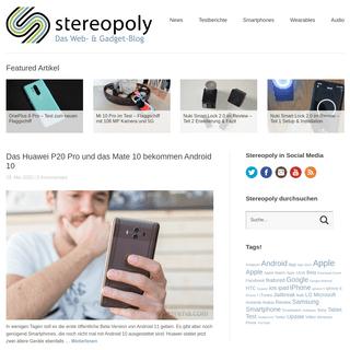 STEREOPOLY - Täglich aktuelle News aus der Web- & Gadget-Welt. Apple, Android, Testberichte, Apps und mehr...