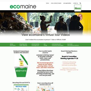ecomaine