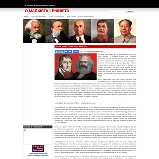 O Marxista-Leninista