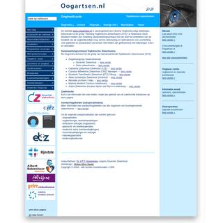 Ogen- oogziekten - aandoeningen en operaties, oogheelkunde, oogziekenhuis -Oogartsen.nl