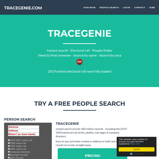 2019 electoral roll -New, voters roll, tracegenie people search from 1stlocate