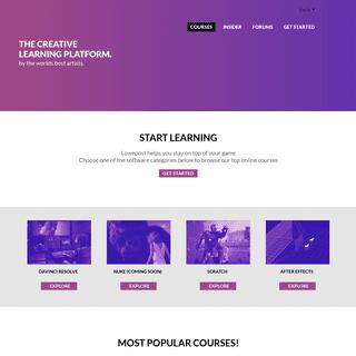 Lowepost, creative learning platform
