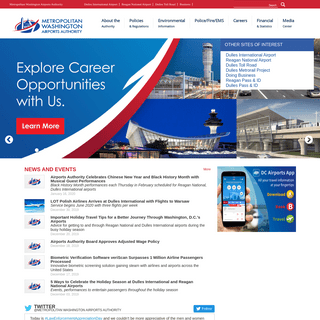 Metropolitan Washington Airports Authority -