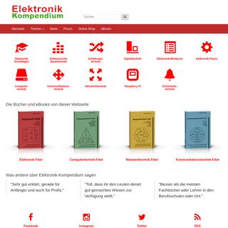 Elektronik-Kompendium.de - Elektronik einfach und leicht verständlich