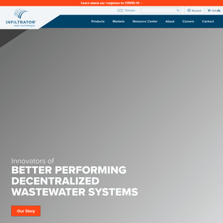 Infiltrator Water Technologies - Wastewater Treatment Solutions