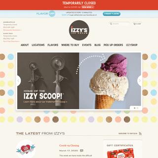 Izzy's Ice Cream - Handmade Ice Cream From the Twin Cities
