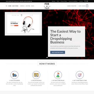 ArchiveBay.com - fietech.com - Fie Tech – Your Dropshipping Business Solution