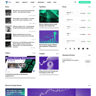 CryptoMonday - Bitcoin & Blockchain News - Community & Meetups