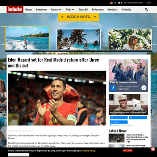 ArchiveBay.com - www.fourfourtwo.com/news/eden-hazard-set-real-madrid-return-after-three-months-out - Eden Hazard set for Real Madrid return after three months out - FourFourTwo