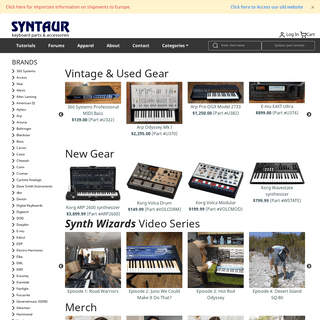 Syntaur - Keyboard Repair Parts and Accessories