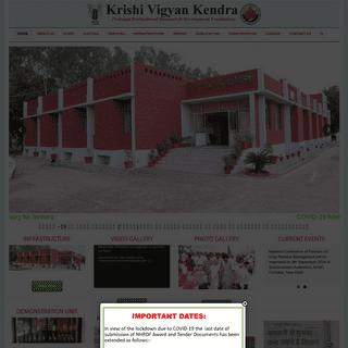 Krishi Vigyan Kendra – (National Horticultural Research &Development Foundation)