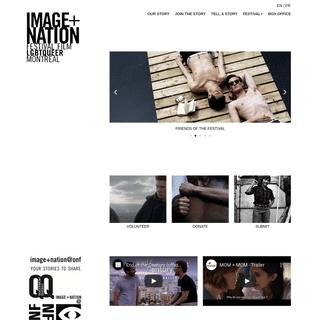 IMAGE+NATION. FILM FESTIVAL LGBTQueer MONTRÉAL