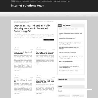 web, database design & development - e-commerce solutions - Search Engine optimization - programming