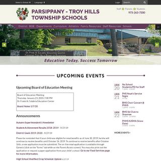 ArchiveBay.com - pthsd.k12.nj.us - Home - Parsippany - Troy Hills Township Schools