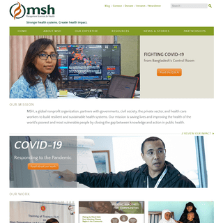 Home - Management Sciences for Health