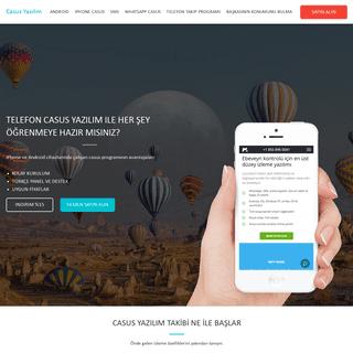 Casus Yazılım - Telefon Casus Yazılım- iPhone & Android 2020