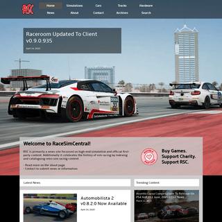 RaceSimCentral - Virtual Racing Index