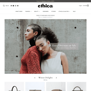 ETHICA - Ethical Fashion and Sustainable Fashion – Shop Ethica
