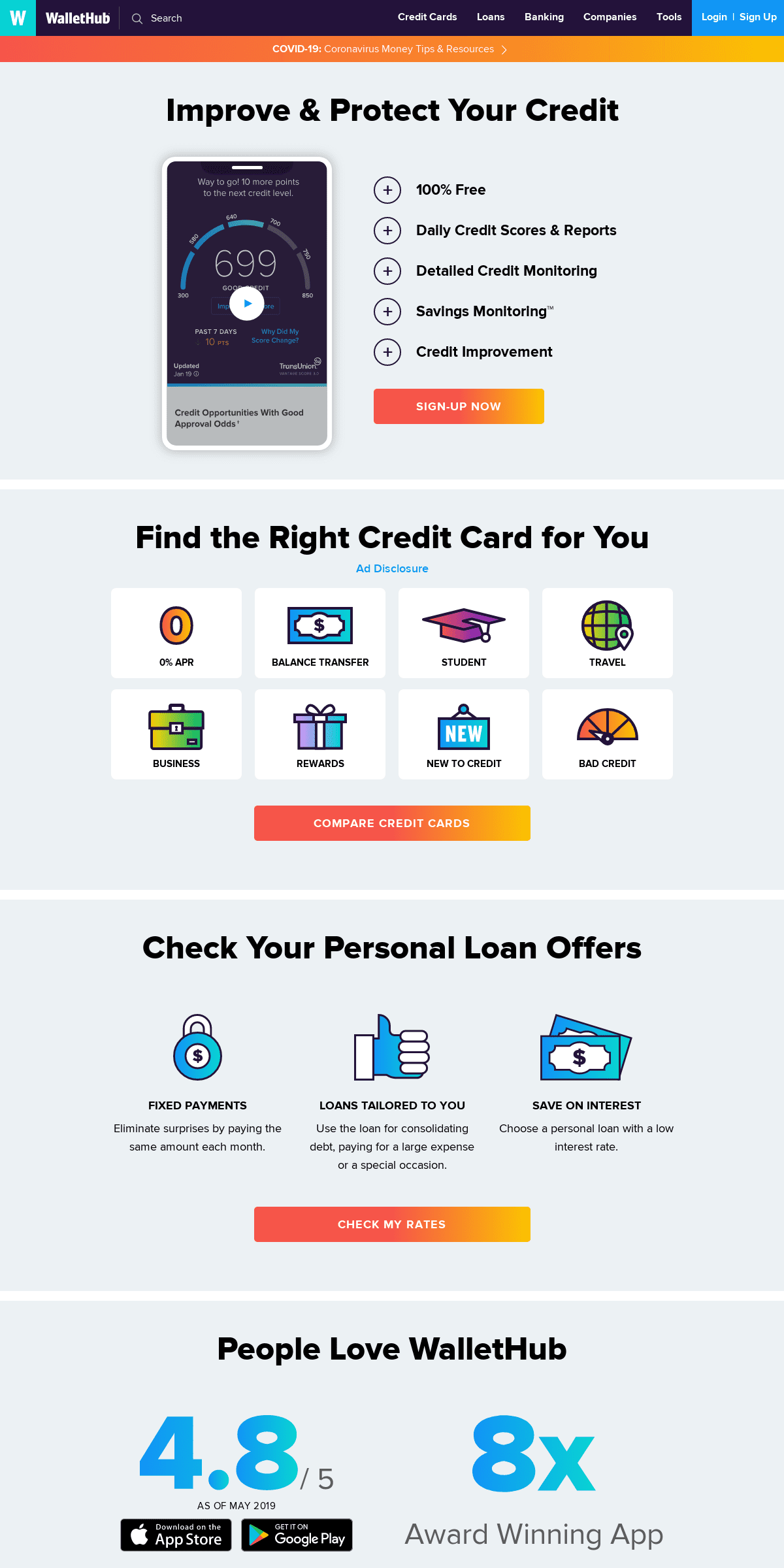 ArchiveBay.com - wallethub.com - WalletHub- Free Credit Scores, Reports & Credit Improvement