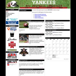 Yankees SCO Football américain
