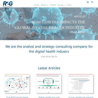 research2guidance - Homepage