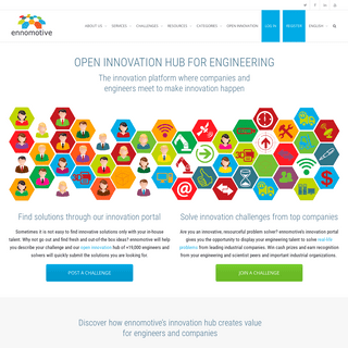 💡 Open Innovation Hub for Engineering Challenge-Solving