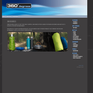 360 Degrees - Adventure, Outdoor, Camping, Hiking, Accessories, Perth, Australia