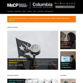 ArchiveBay.com - mocp.org - Museum of Contemporary Photography
