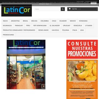 Latincor - El Superlatino- productos latinos - Latincor - El Superlatino