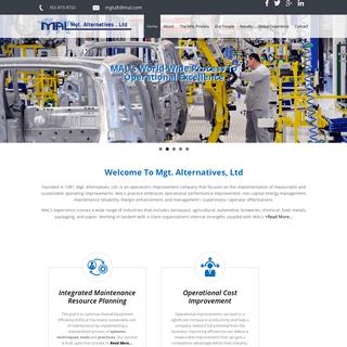 Mgt Alternatives, Ltd