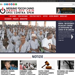 ArchiveBay.com - nessunotocchicaino.it - NESSUNO TOCCHI CAINO CONTRO LA PENA DI MORTE NEL MONDO FIRMA ANCHE TU!
