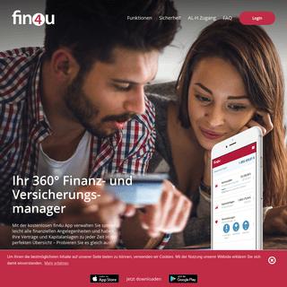Finanzen und Versicherungen online verwalten - fin4u
