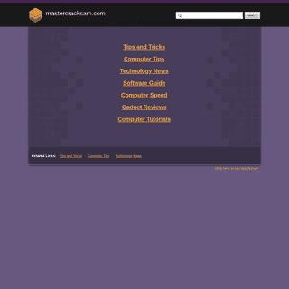 A complete backup of mastercracksam.com