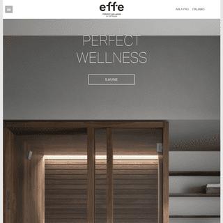 Effe - Produzione e vendita saune, bagni turchi e spa