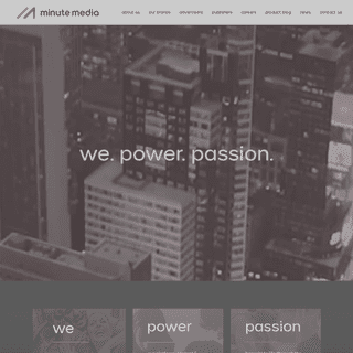 Minute Media - We Power Passion
