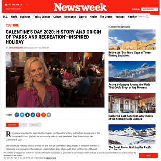 ArchiveBay.com - www.newsweek.com/galentines-day-parks-recreation-holiday-1486598 - Galentine's Day 2020- History and Origin of 'Parks and Recreation'–Inspired Holiday