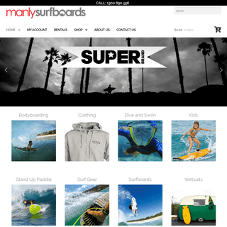 Manly Surfboards - Australia's Premier Online Surf Shop