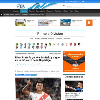 ArchiveBay.com - www.futbolargentino.com/primera-division/noticias/river-plate-vs-banfield-en-vivo-online-por-la-superliga-argentina-260161 - River Plate le ganó a Banfield y sigue en lo más alto de la Superliga