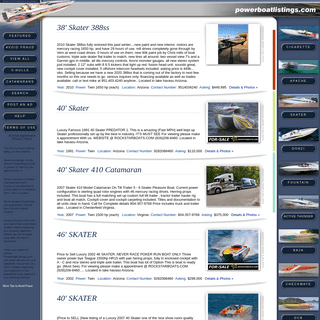 Powerboat Listings - powerboats for sale
