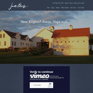 Jonathan Edwards Winery - New England Charm. Napa Style.