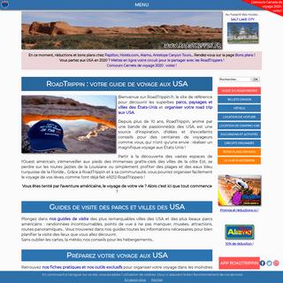 RoadTrippin - votre guide de voyage dans l'Ouest américain et aux USA