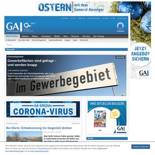 Übersicht - General-Anzeiger- Alle Nachrichten, Bilder und Videos aus Ihrer Region