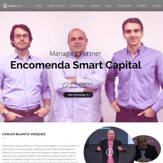 Carlos Blanco – Emprendedor y Business Angel, fundador de Nuclio VB y Encomenda VC
