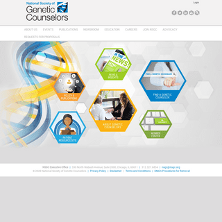 National Society of Genetic Counselors - NSGC Home Page